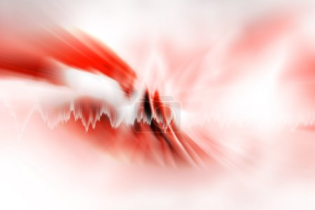 roter futuristischer abstrakter Hintergrund