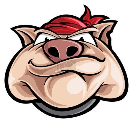 Hog mascot