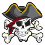 Pirate skull...