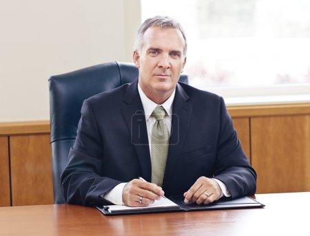 Confident Senior Businessman