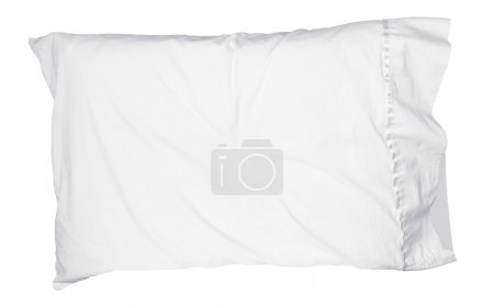 Soft white pillow