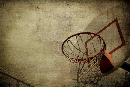 Photo for Basketball basket grunge - Royalty Free Image