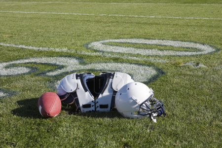 Photo for Football field - Royalty Free Image