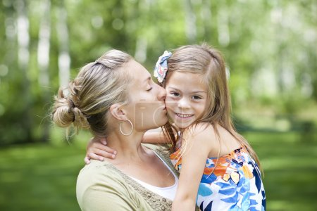 Photo for Mother's Love and Care for her Daughter - Royalty Free Image