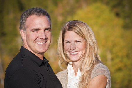 Photo for Beautiful Middle-aged Couple Portrait - Royalty Free Image