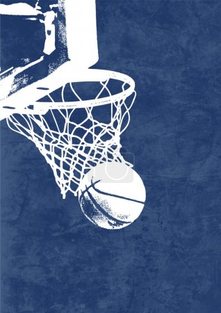 Photo for Basketball Background - Royalty Free Image