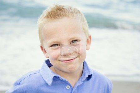 Beautiful Portrait of a Happy little boy