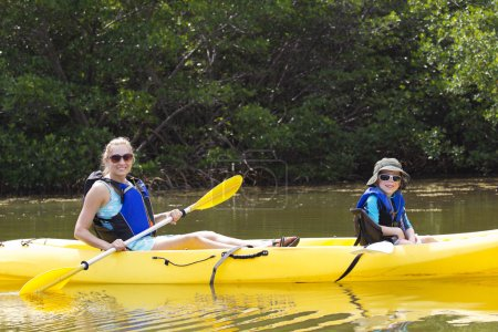 Kayaking in the Mangroves in Florida
