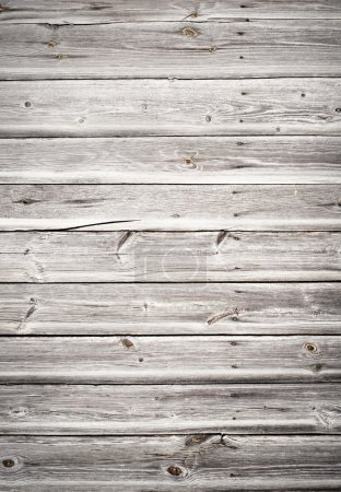 Photo pour Vieux mur en bois grungy - image libre de droit