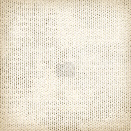 Photo for Woven wool white fabric texture - Royalty Free Image