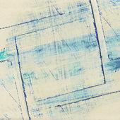 Abstraktní akvarel s koláž papír textury