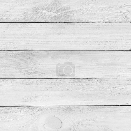 Photo for Painted white wooden planks texture - Royalty Free Image