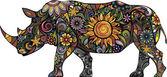 Veselý nosorožec
