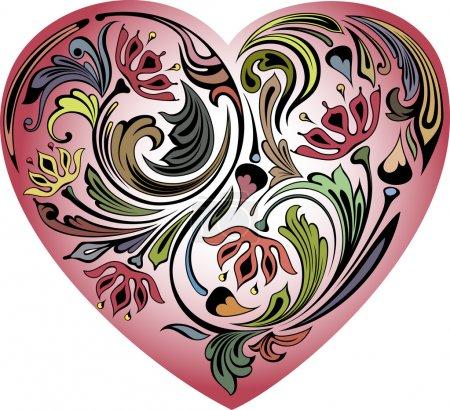 Hearts in the petals