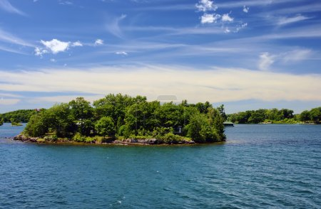 Thousand Islands National Park Ontario Canada near Kingston acro