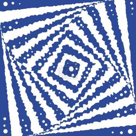 Square optical illusion.