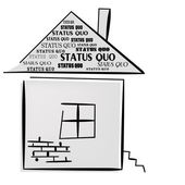 Status Quo words on home