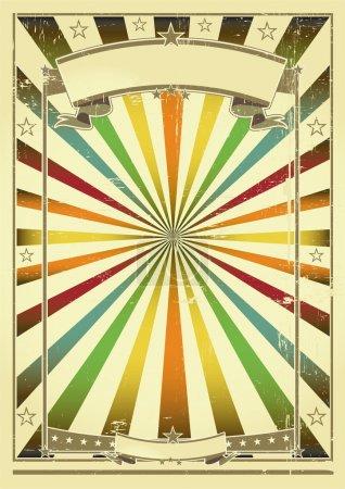 Multicolor background retro.