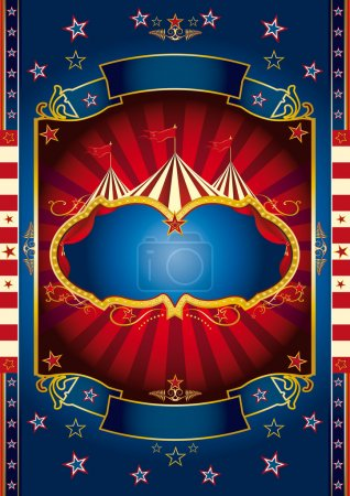 Red wheel circus.