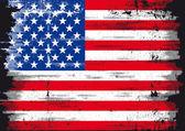 US Grunge flag