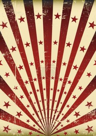 Grunge flag.