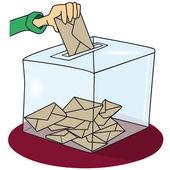 A ballot box