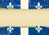 Quebec scratched flag