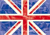 Union jack icy flag
