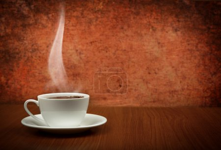 Photo for Cup of coffee with copy space - Royalty Free Image