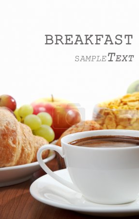 Photo for Breakfast with coffee - Royalty Free Image