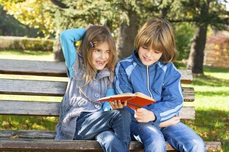 Children learn in nature
