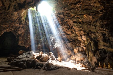 Sun Light in the cave