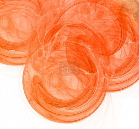 Orange abstract light background
