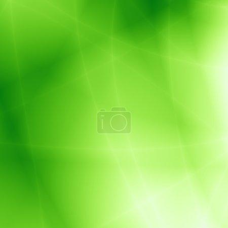 Photo pour Vert abstrait nature fond - image libre de droit