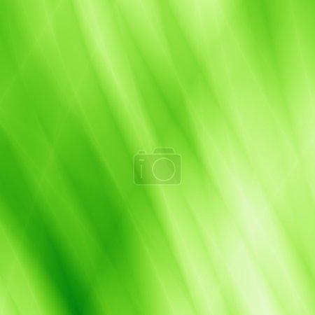 Photo pour Feuille éco abstrait fond vert - image libre de droit