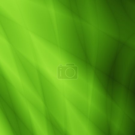 Photo pour Carte de vœux abstraite verte Saint Valentin - image libre de droit