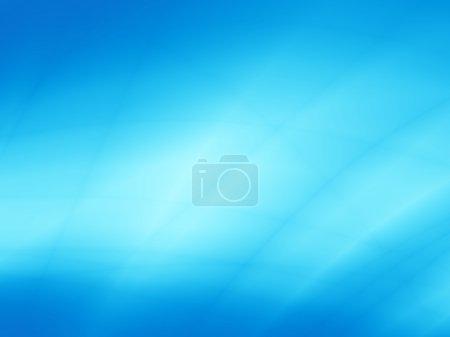 Design art carte abstraite bleue turquoise