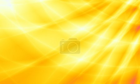 Photo pour Conception de web abstraite ambre fond jaune soleil - image libre de droit
