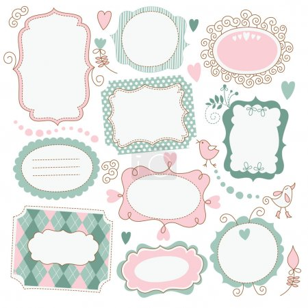 Illustration for Vintage Frames - Royalty Free Image