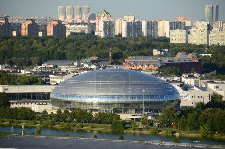 "Basketball Palace of Sports"" Dynamo ""in Krylatskoye, in Moskvoretsky Park."