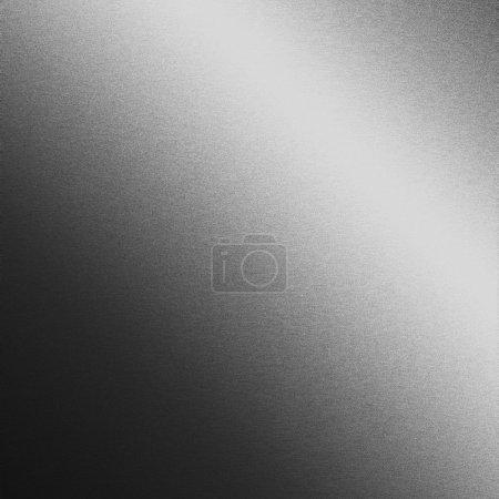 fond en métal argenté, texture lisse chrome