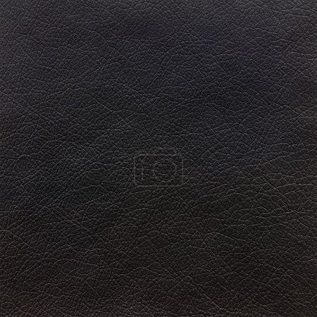 Photo pour Fond de texture cuir noir - image libre de droit