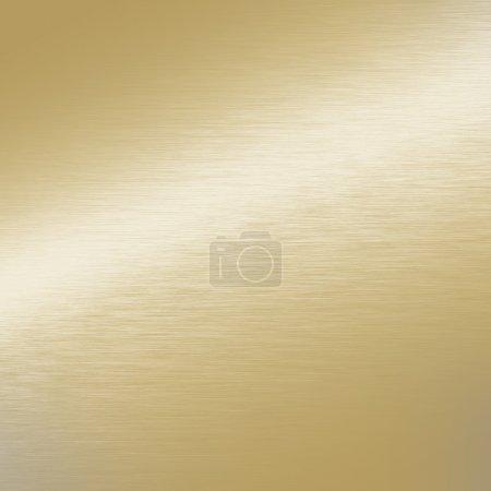 Photo pour Or texture métallique fond surface lisse - image libre de droit
