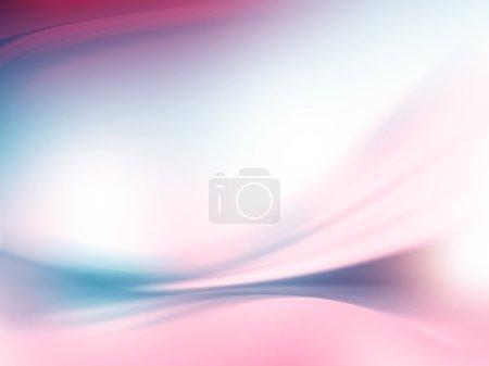 Photo pour Texture abstraite blanche, rouge et bleue des lignes d'onde de fond - image libre de droit