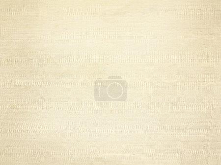Photo pour Toile beige texture papier fond - image libre de droit