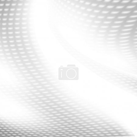 White background mesh grid pattern