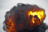 Explosion-Feuerball