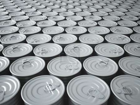 Endless Stockpile of Tin Cans