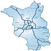 Mapa Braniborská