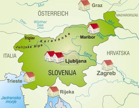 Mapa online de Eslovenia